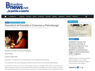 Belvedere News - Prodigioso Movimento